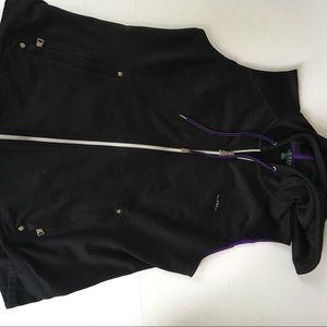 Ralph Lauren Women Black Vest Size L
